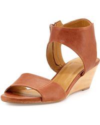 Coclico Kiss Leather Demi-wedge Sandal - Lyst