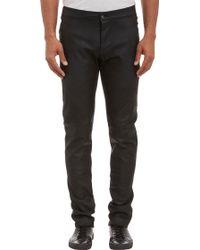 Gareth Pugh - Waxed Leather Trousers - Lyst