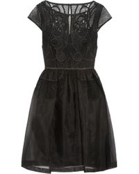 Temperley London Maxime Embroidered Silk Organza Dress - Lyst