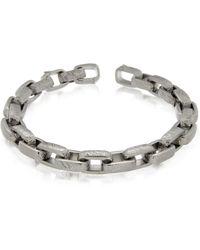 Zoppini - Zo-chain Stainless Steel Link Bracelet - Lyst