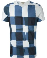 Burberry Brit Square Printed T-Shirt - Lyst