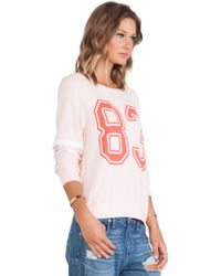 Wildfox Sporty 83 Pullover - Lyst