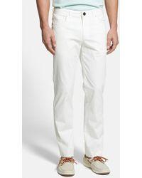 Tommy Bahama 'Venice' Five Pocket Pants white - Lyst