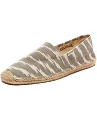Soludos Beige Ikat - Lyst