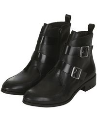 Topshop Air Ankle Boots - Lyst