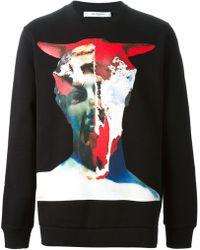 Givenchy Skull Print Sweatshirt - Lyst