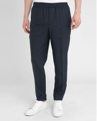 Carven | Navy Elasticated Waistband Trousers | Lyst