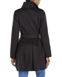 Kensie Single-Breasted Belted Trench Coat - Lyst