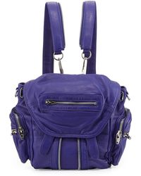 Alexander Wang Mini Marti Washed Lambskin Backpack - Lyst