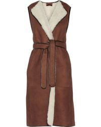 The Row Krimby Shearling Gilet - Lyst
