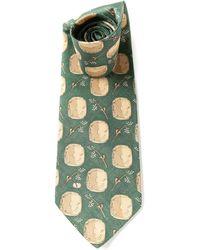Valentino Vintage Foulard Tie - Lyst
