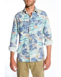 Faherty Brand Hawaiian Heritage Workshirt - Lyst
