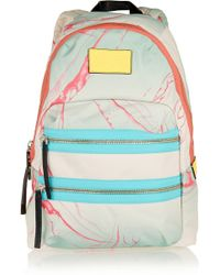 Marc By Marc Jacobs - Domo Arigato Packrat Printed Canvas Backpack - Lyst