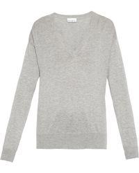 Raey Slouchy V-Neck Sweater - Lyst