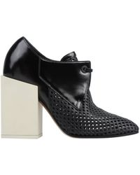 Balenciaga Laceup Shoes - Lyst