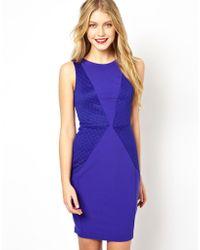 Coast Purple Rotterdam Dress - Lyst
