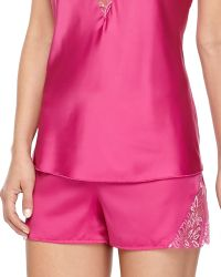 Cosabella Positano Satin & Shimmer Lace Boxers - Lyst