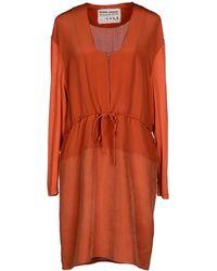 Henrik Vibskov Short Dress orange - Lyst