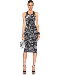McQ by Alexander McQueen Jacquard Tank Dress - Lyst