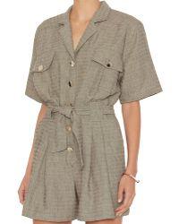Carolina Ritz - Short Sleeve Linen Jumper - Lyst