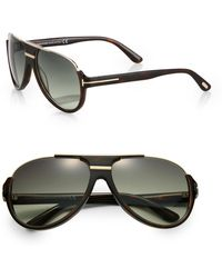 Tom Ford Dimitry Acetate Retro Sunglasses - Lyst