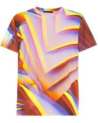 Christopher Kane Paper-print T-shirt - Lyst
