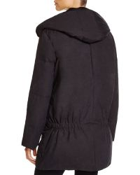 DKNY - Pure Double Zip Puffer Coat - Lyst