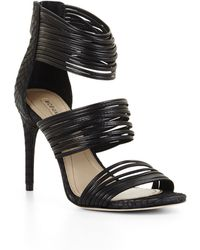 34617ef49cb BCBGMAXAZRIA - Pex High-heel Strappy Day Sandal - Lyst
