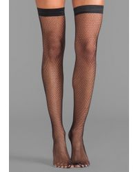 Wolford Zehra Stay Up Thigh Highs  - Lyst
