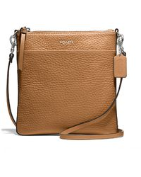 Coach Brown Borsa Cuoio - Lyst