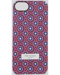 Ted Baker Zully Multi Geo Iphone 5 Case - Lyst