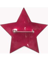 Tommy Hilfiger - Leather Star Badge - Lyst