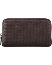 Bottega Veneta Continental Zip-around Wallet - Lyst