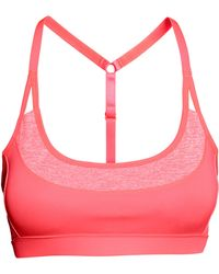 H&M Sports Bra Low Support pink - Lyst