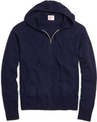 Brooks Brothers - Full-zip Hooded Sweater - Lyst