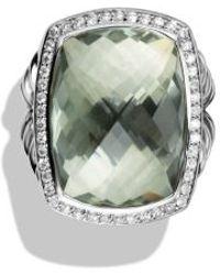 David Yurman Albion Ring With Diamonds - Lyst