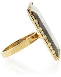 Lana Jewelry Gloss Labradorite Ring - Lyst