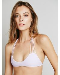 Free People Strappy Racer Back Top - Lyst