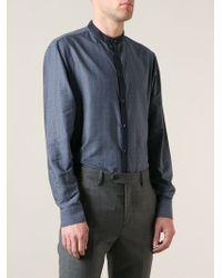 Giorgio Armani Geometric Guru Shirt - Lyst