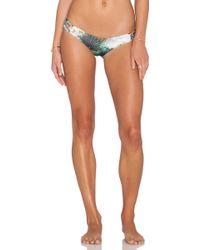 San Lorenzo - Reversible Braided Thong Bikini Bottoms - Lyst