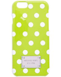 MICHAEL Michael Kors Snap-On Iphone 6 Case green - Lyst