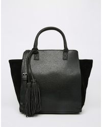 Pieces - Tote Bag - Lyst