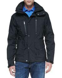 Ralph Lauren Black Label Weatherproof Hooded Jacket - Lyst