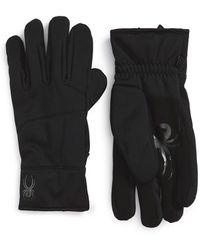 Spyder - 'facer' Tech Ski Gloves - Lyst