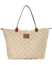 It's The Girl By Junior Drake | Oak Quilted Tote | Lyst