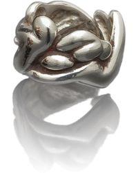 Antonella Tanzini | Gather Ring Silver Gloss | Lyst