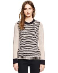 Tory Burch Maxeen Sweater - Lyst
