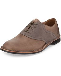 Andrew Marc Dorchester Saddle Oxford - Lyst