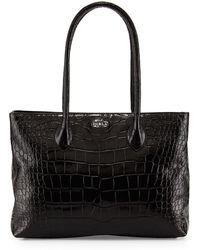 Furla Martha Leather Satchel Bag - Lyst