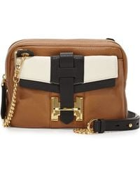 Halston Heritage Small Pebbled Crossbody Bag - Lyst